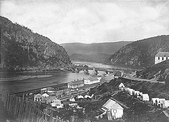 Harpers Ferry, West Virginia 1865