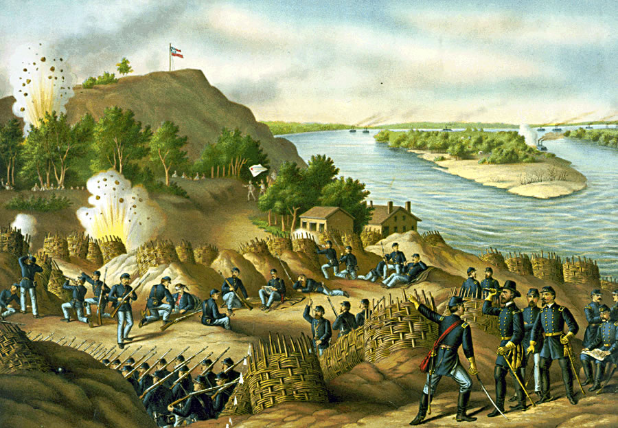 The Siege of Vicksburg by Kurz and Allison