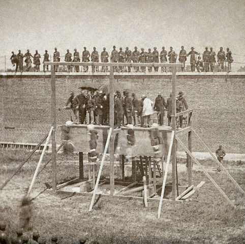 Hanging of Abraham Lincoln Conspiritors